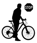 cyclist stopped120